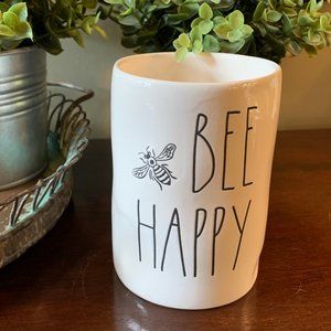 Rae Dunn Bee Happy Honey Scented Candle
